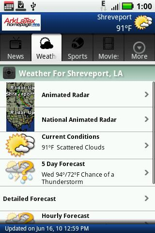 ktbs-com-mobile-shreveport-la for android screenshot