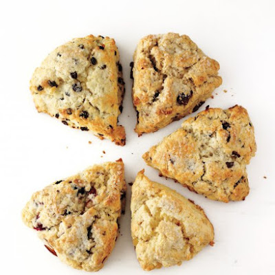 Cherry-Hazelnut Scones