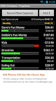 Screenshot of Goodbudget: Expense & Budget