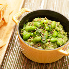 Guacamole with Edamame and Sesame