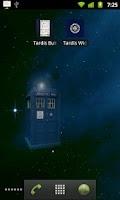 Screenshot of Tardis Live Wallpaper