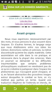 Bergson : Oeuvres complètes - screenshot