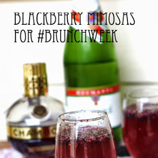 Blackberry Mimosas