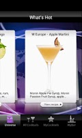 Screenshot of MONIN Ultimate Cocktails