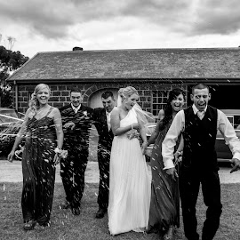 caught in the moment by Greg Di Natale - Wedding Groups ( wedding, fun )
