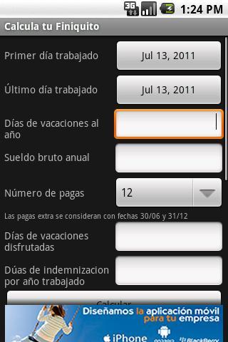Calculate Settlement Spain