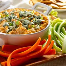 Disappearing Buffalo Chicken Dip