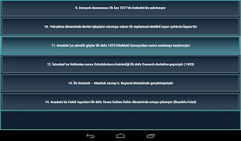 Screenshot of KPSS Yarışması