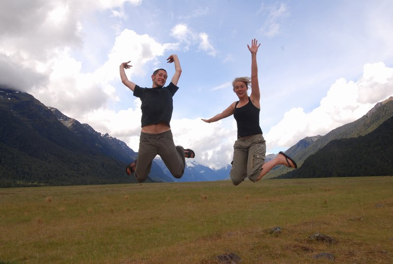 Joehoe, we zijn in Nieuw-Zeeland!