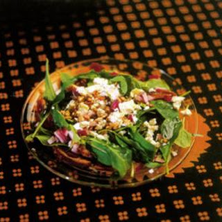 Arugula Salad with Dates and Chevre