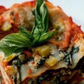 Frozen Vegetable Lasagna Recipes