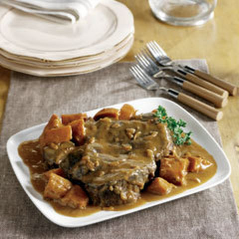 Harvest Pot Roast With Sweet Potatoes