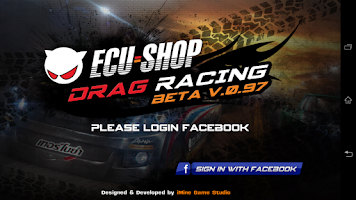 Screenshot of ECU=SHOP Drag Game