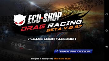 Screenshot of ECU=SHOP Drag Game
