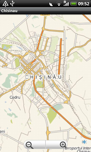 Chisinau Street Map