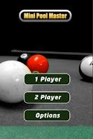 Screenshot of Pool Master Mini FREE
