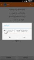 Screenshot of Zawgyi Font Changer ( Z.F.C )