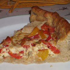 3-Pepper Quiche