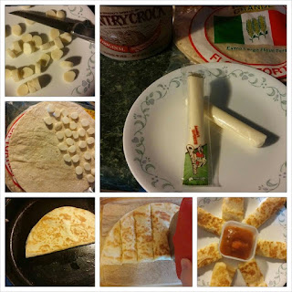 Simple and Fast Cheese Quesadillas