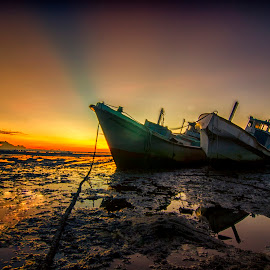 ship by Amyn Akbarinzyach - Transportation Boats
