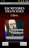 Screenshot of AUDIOLIBRO: Gustave Flaubert