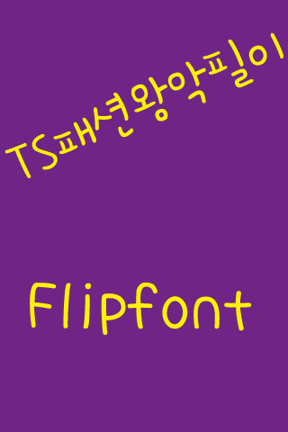 TSfashionking™ Korean Flipfont
