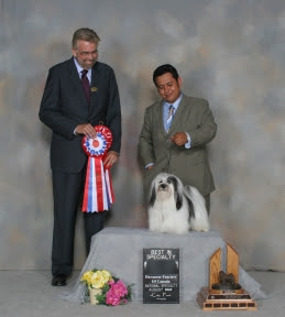 Best in Specialty and Best Canadian Bred in Specialty