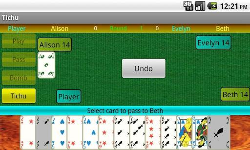 Tichu - screenshot