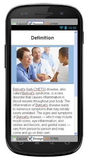 Behcets Disease & Symptoms - screenshot