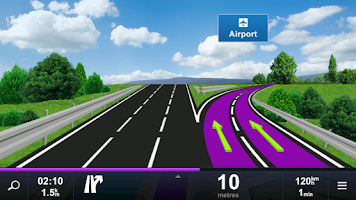 Screenshot of Sygic Car Navigation
