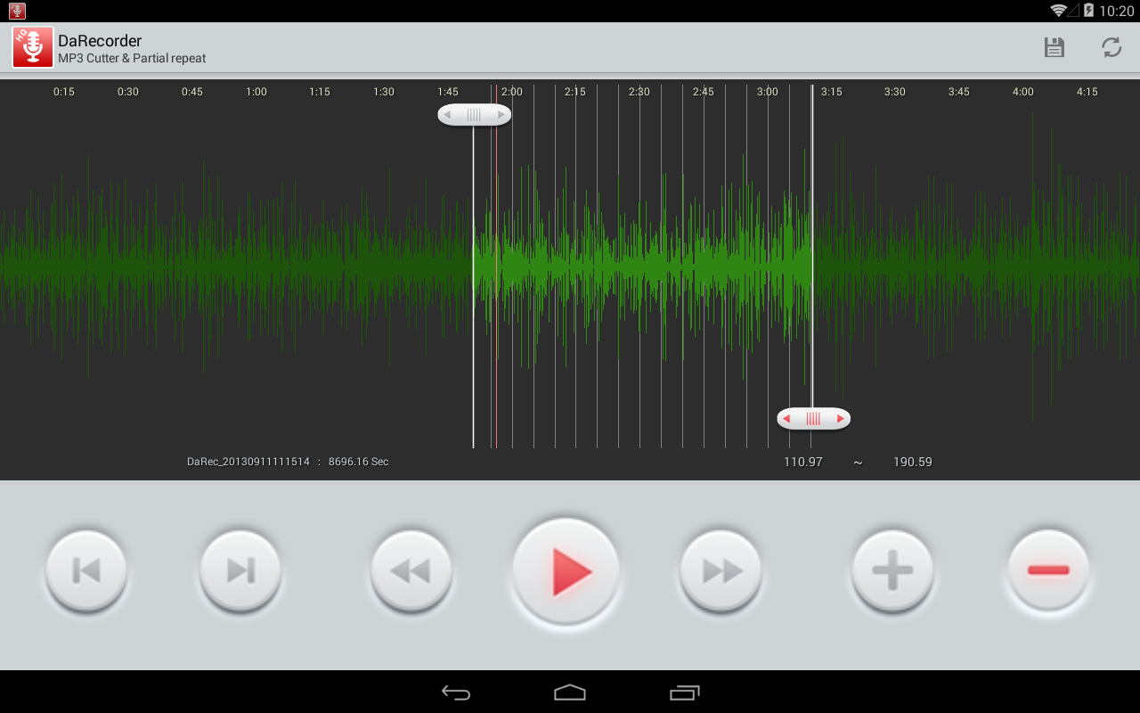 High Quality Voice Recorder Screenshot 8