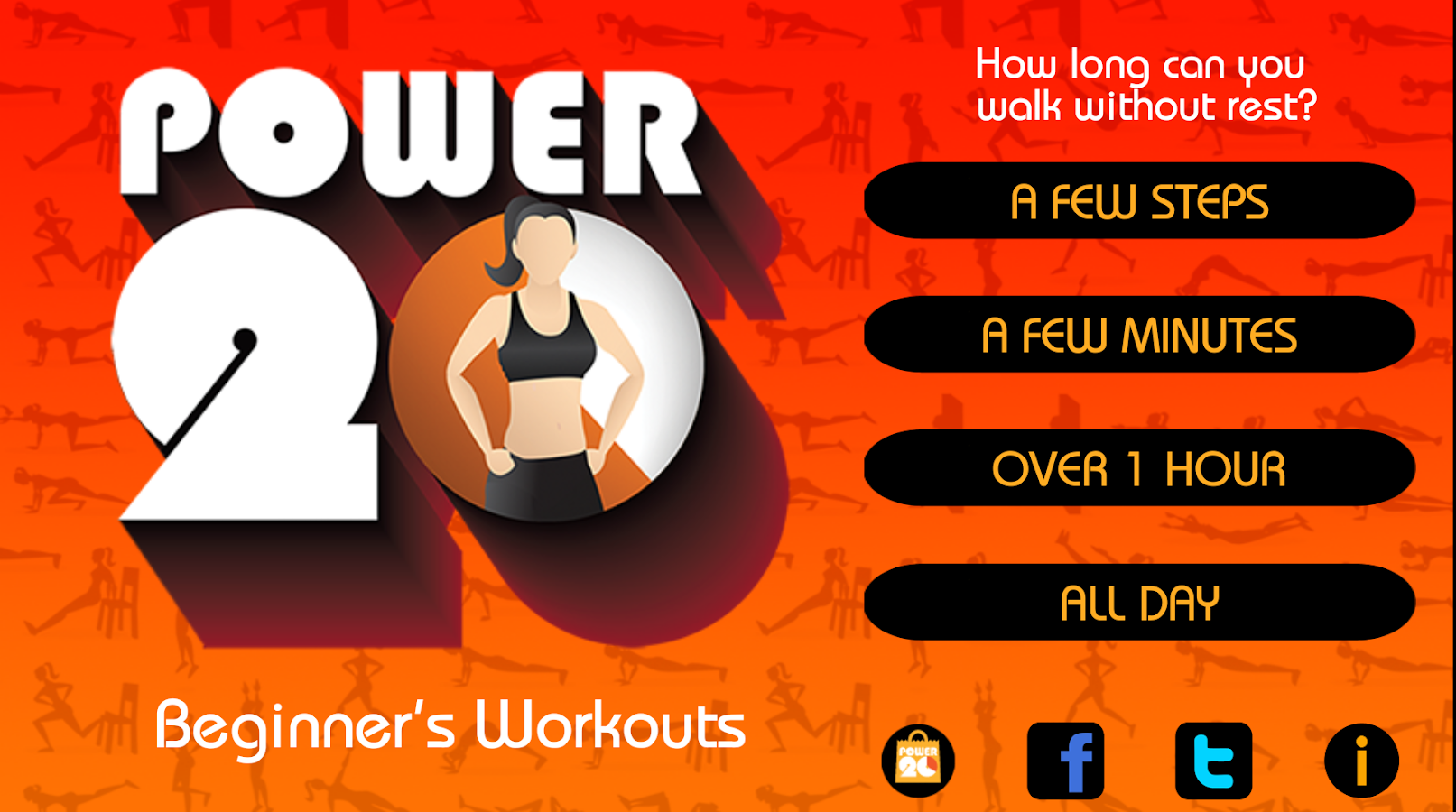 20 Minute Beginners Workout Screenshot 6