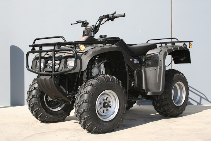 250cc 2WD Watercooled Shaft Drive Farm Quad Bike - Atomik Trojan 250 Quad