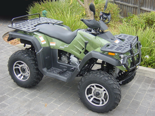 300cc 4WD Farm Quad ATV Watercooled 4x4 Shaft IRS