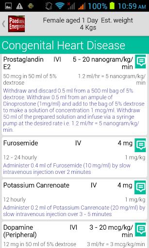 Paediatric Emergencies - screenshot