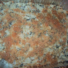 Potato Casserole with Spinach and Feta