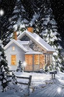 Screenshot of Winter Scenery Live Wallpaper
