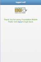 Screenshot of FS Edge Mobile Trade