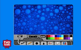 Screenshot of TVOKids Artbot Lite