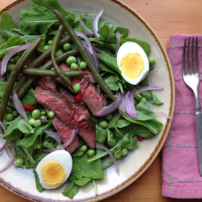 Springy Steak Salad