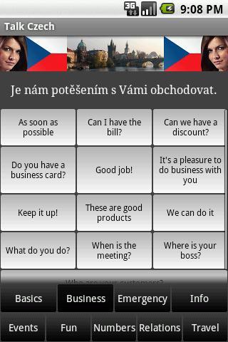 Talk Czech