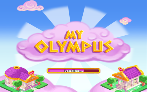 My Olympus, Match 3 game - screenshot