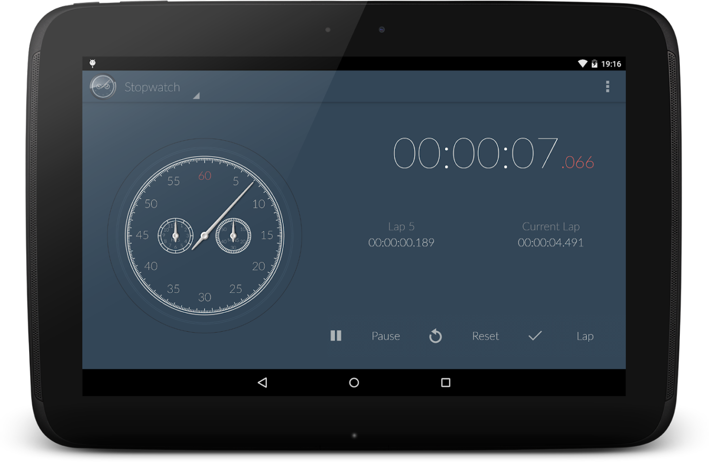 Stopwatch & Countdown Timer + Screenshot 7