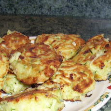 Zucchini & Cheese Patties