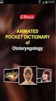 Screenshot of Otolaryngology-Dictionary