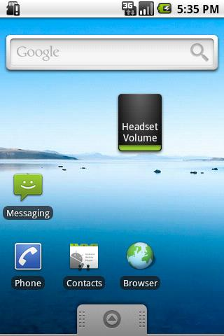 headset-volume-controller for android screenshot