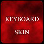 Red Foggy Keyboard Skin icon