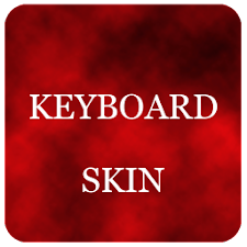 Red Foggy Keyboard Skin