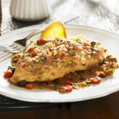 Mediterranean Orange Chicken