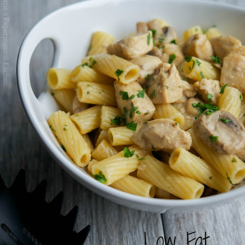Low Fat Chicken Marsala Rigatoni